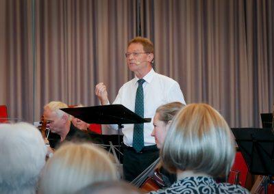 Konzert 2019: Volker Grimsehl: Die Geschichte von Don Quijchote, Concertino für Viola, Fagotti und Streicher (Rudofl Krieger)