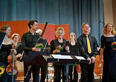 Konzert 2019: Volker Grimsehl: Die Geschichte von Don Quijchote, Concertino für Viola, Fagotti und Streicher (Kristine Busse)