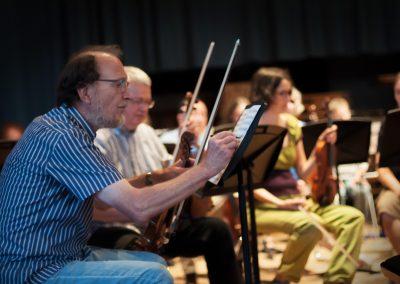 Proben zu Ludwig van Beethoven: Konzert für Klavier und Orchester Nr. 3 in c-moll op. 37 (Ekaterina Popova)